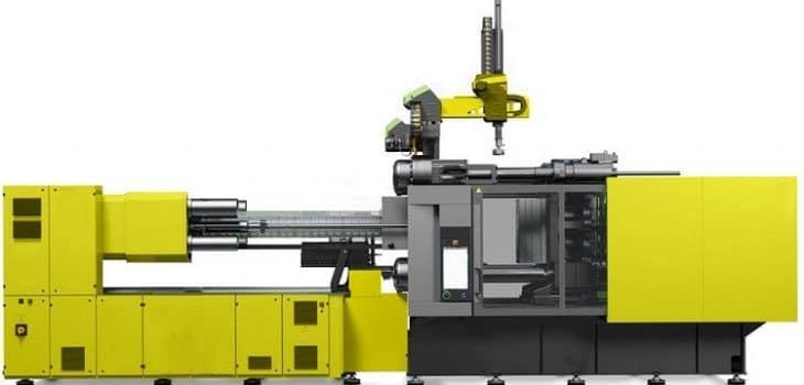 moldeo por inyección, Proceso de moldeo por inyección en industria del plástico