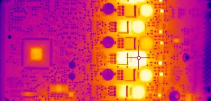 desarrollo electrónica, Cámaras infrarrojas en el desarrollo de la electrónica