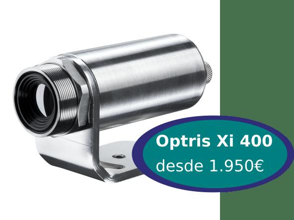optris xi, Cámaras Termográficas Optris Serie Compacta Xi
