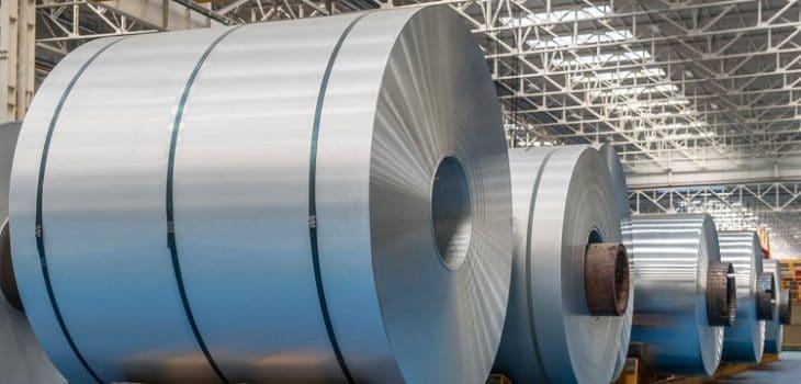 optoNCDT ilr, Diámetro de bobinas metálicas