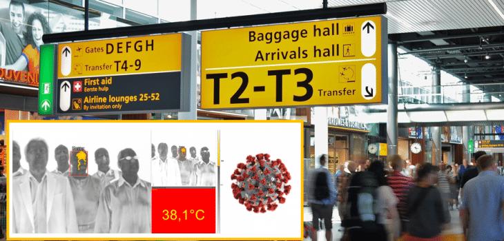 detección de fiebre, Sistema de detección de fiebre en pasajeros