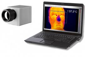 Detección de fiebre, Detección de fiebre mediante cámaras termográficas   Infográfico
