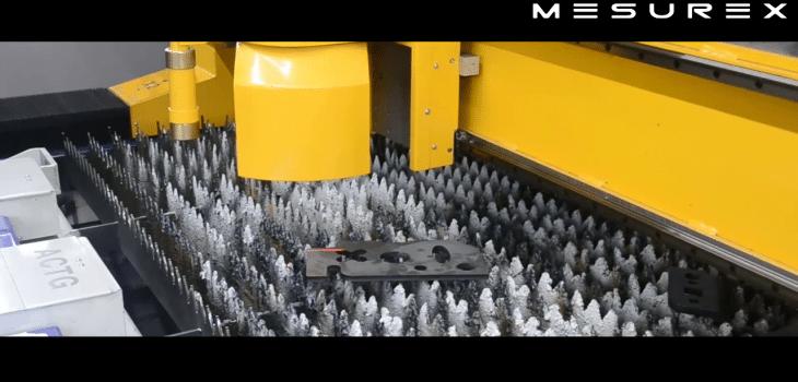 Escáner 3D, Escáner 3D antes de corte por plasma | Video