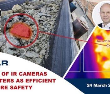 contra incendios, Webinar |  Cámaras IR y pirómetros para la seguridad contra incendios