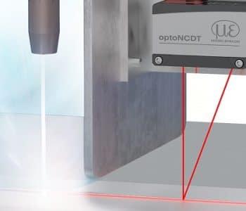 optoNCDT 1900, El sensor de triangulación láser optoNCDT 1900 ahora con rango 100 mm.