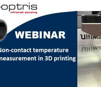 temperatura impresión 3d, Webinar |  Medición de temperatura sin contacto en impresión 3D